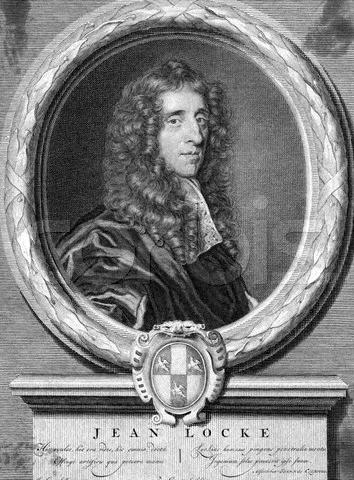 Engraving Of John Locke