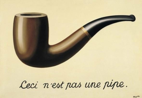 """""""Ovo nije lula"""" Rene Magrit"""