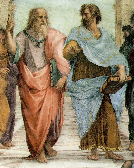 Platon i Aristotel (Rafaelo)